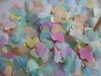 Pastel Tissue Hearts Wedding Confetti Celebration Decoration Bio Fill Cones