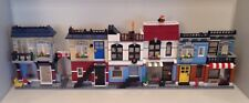 LEGO CREATOR 3 en 1 modulaire Bundle 31050 31026 Bike Shop CAFE CORNER Deli