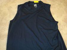 Rec Tech Performance Gear Navy Blue Sleeveless size S Men's Shirt