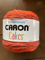 "Caron Big Cakes Yarn ""Cinnamon Swirl""  10.5 Oz Multi Colors Free Shipping NEW"