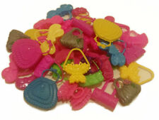 """(10) Colorful Assorted Barbie Toy Purses-For 3.5"""" and 11.5"""" Fashion dolls"""