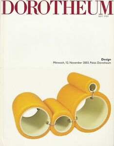 Dorotheum 20th Century DESIGN 2003 Secession Bauhaus Mid-Century Modern COLOMBO