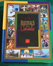 2001-3 CANADA 50-cent Festivals set -- EMPTY CASE (no coins)