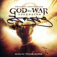 GOD OF WAR: ASCENSION Tyler Bates CD Autographed SIGNED La-La Land SCORE New!