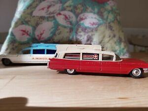Corgi Toys Superior Ambulance On Cadillac Chasis 2 Ambulances