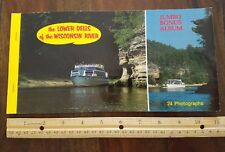 Vintage Lower Dells of Wisconsin 20 color postcards unposted no writing