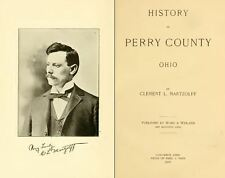 1902 PERRY County Ohio OH, History and Genealogy Ancestry Family Tree DVD B14