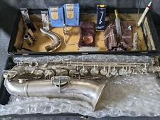 Vintage King Saxophone Made in USA with Case & Mouthpieces
