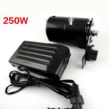 250W 220v household sewing machine motor 12500 r/min with foot pedal controller
