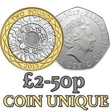 More details for coin unique £2-50p version - professional version coin unique easy coin magic uk