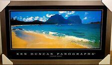 KEN DUNCAN PANOGRAPHS - LAGOON SANDS PRINT FRAMED