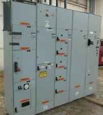 Ge 8000 Line Motor Center Mcc 460V 1200 Amp Sections Size 5 & 6 Starter 3752Pasc