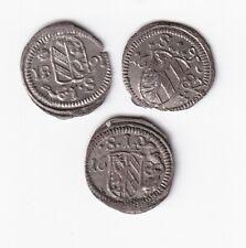 Nürnberg Pfennig 1680, 1681 und 1682 hübsch nsw-leipzig