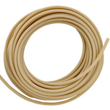 "Soft Opaque Flame-Retardant Rubber Tubing Inner Dia 3/4"" Outer Dia 1"" - 25 ft"