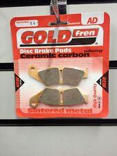 HONDA CR 250  CR250  2002-2007  GOLD FREN FRONT BRAKE PADS