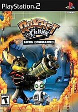 Ratchet & Clank : Going Commando 2003 PLAYSTATION 2 Game PS2 (No Manual) vg