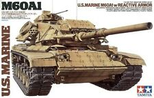 KIT TAMIYA 1:35 U.S. MARINE M60A1 W/REACTIVE ARMOR  35157