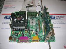 Complete MSI MS-6534 Ver 1 ATX Motherboard CPU Ram Heatsink FAN Clean Tested