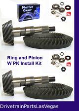 Motive Dana 35 + 30 Jeep Ring and Pinion Gear Set Pkg w Install Kit 4.56 Ratio