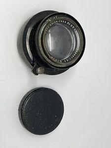 Carl Zeiss Jena Tessar 15cm (150 mm) f:4.5 Barrel lens with Helicoid, lens board