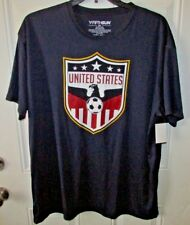 FIFTHSUN New with tags  SOCCER UNITED STATES USA POLY T-Shirt Navy SZ XLarge