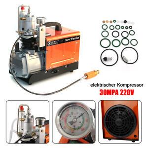 30MPA 4500PSI  High Pressure Air Compressor Pump PCP Electric Pump 220V 1.6KW