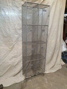 wire mesh locker