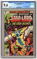 Marvel Spotlight v2#6 (CGC 9.6) 1st comic book app. Star-Lord; Newsstand C402