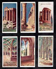Ancient Temples & Churches German Gartmann Card Set 1900s Architecture Egypt