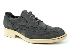 Pedro Garcia Men's Coal Castoro Mr. Koby Oxfords 6437 Size 42.5