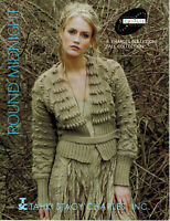 Tahki Stacy Charles ROUND MIDNIGHT Fall Collection - 16 Knitting Patterns BOOK