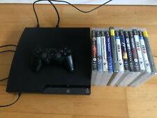 Sony Playstation 3 slim + Controller + 12 Spiele  Neuwertig
