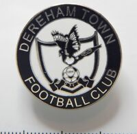 Dereham Town Football Club Enamel Badge - Non League Football Clubs -