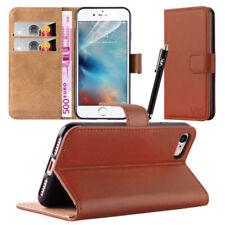 Fundas y carcasas Para iPhone 5s en color principal marrón de piel para teléfonos móviles y PDAs