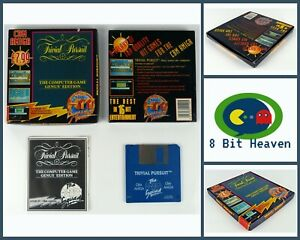 TRIVIAL PURSUIT BY THE HIT SQUAD FOR COMMODORE AMIGA -TESTED & WORKING