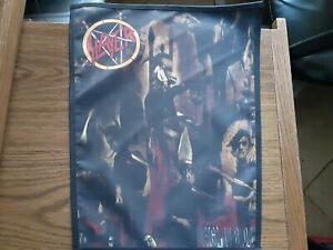 SLAYER REIGN IN BLOOD,SEW ON SUBLIMATED LARGE BACK PATCH