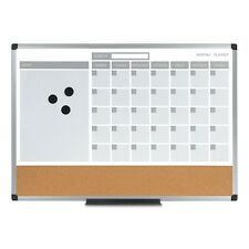 MasterVision 3-in-1 Calendar Planner Dry Erase Board - MB0707186P