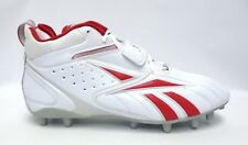 Reebok Pro Full Blitz Strap MP Red and White Football Cleats - Size 12.5 ca94ee168