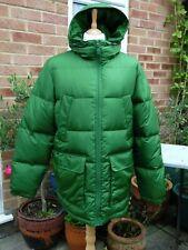 Lands End Men's Green Feather / Down Jacket Size L Large