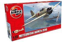 Airfix Mitsubishi A6M2b Zero 1:72 Scale Plastic Model Plane A01005A