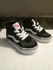 Vans Classic Hightop Slip On Sneakers Shoes Toddler Infant Size 4.5