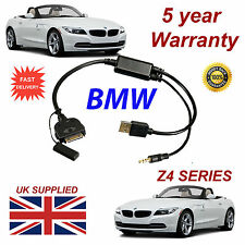 BMW Z4 Series (611204407) For Apple 3GS 4 4S iPhone iPod USB & 3.5mm Aux Cable