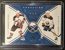 2018-19 SP Authentic Franchise Icons /199 Dave ANDREYCHUK & Rasmus DAHLIN Sabres