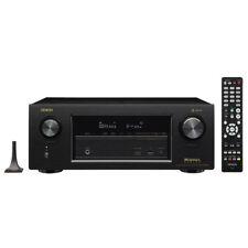 Denon AVR-X3400H Black 7.2 Channel A/V Surround Receiver - OPEN BOX - PERFECT