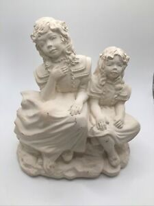 Heartwarmers SHARING DREAMS Sculpture By C.G. Alarcon1992 First Edition