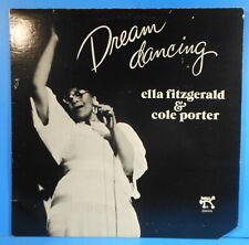 ELLA FITZGERALD & COLE PORTER DREAM DANCING LP 1978 GREAT CONDITION VG+/VG!!