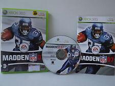 Madden NFL 07 Jeu XBOX 360 Complet avec Notice