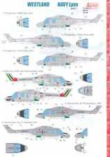 Authentic Decals 1/48 Westland Lynx Navy Helicopter
