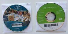 HP Deskjet Printer D4100 Series Driver CD Windows 2000 Mac OS & Photo Card Maker