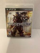 Transformers: Dark of the Moon (Sony Playstation 3, PS3) Complete with Manual